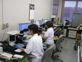 顕微鏡による白血球分類
