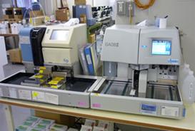 全自動血糖分析装置GA08IIIと自動グリコヘモグロビン分析計HLC-723G9