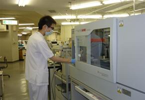 全自動輸血検査システム Auto Vue
