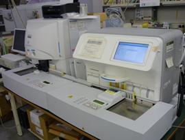 尿検査自動分析器 (クリニテックノーバス&UF-1000i)