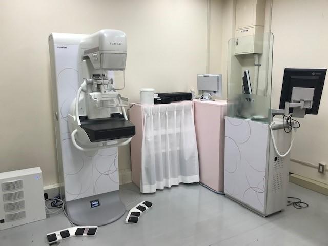 検査室の全景